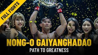Nong-O Gaiyanghadao's Path To Greatness | ONE Features thumbnail