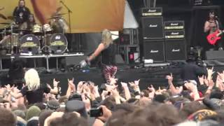 Steel Panther & Corey Taylor - Death To All But Metal (Download Festival 2012)