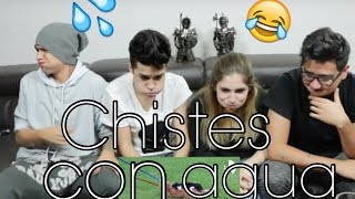 CHISTES CON AGUA (MARIO BAUTISTA Y PAISAVLOGS) - #VINEVSTWITTER