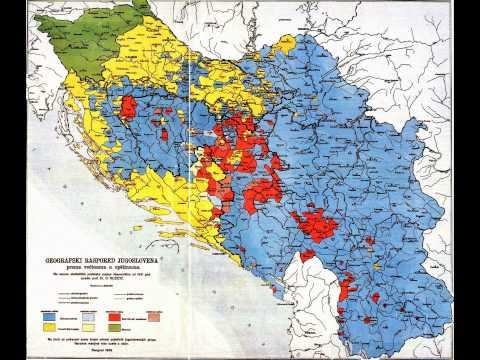 Mapa Iz1939 God. Zabranjena Za Vreme Titove Jugoslavije