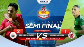 Highlights Persija Vs Madura Utd Ft: 2-1 - Bejo Jahe Merah Piala Gubernur Jatim 2020