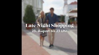 Late Night Shopping Angebote 2018 sind enthüllt