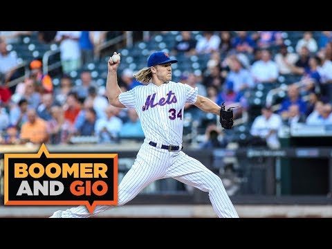 Could Noah Syndergaard be TRADED to the YANKEES?!   Boomer & Gio