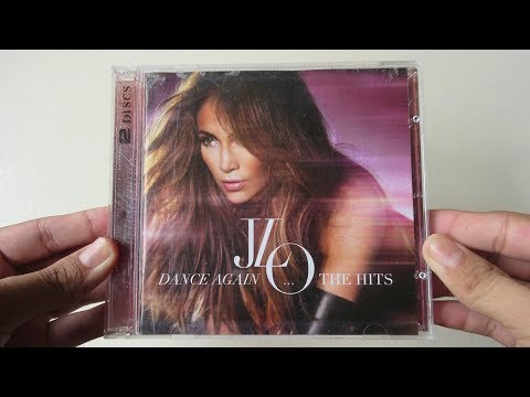 Jennifer Lopez - Dance Again... The Hits ( Album Deluxe Edition CD + DVD ) - Unboxing CD En Español