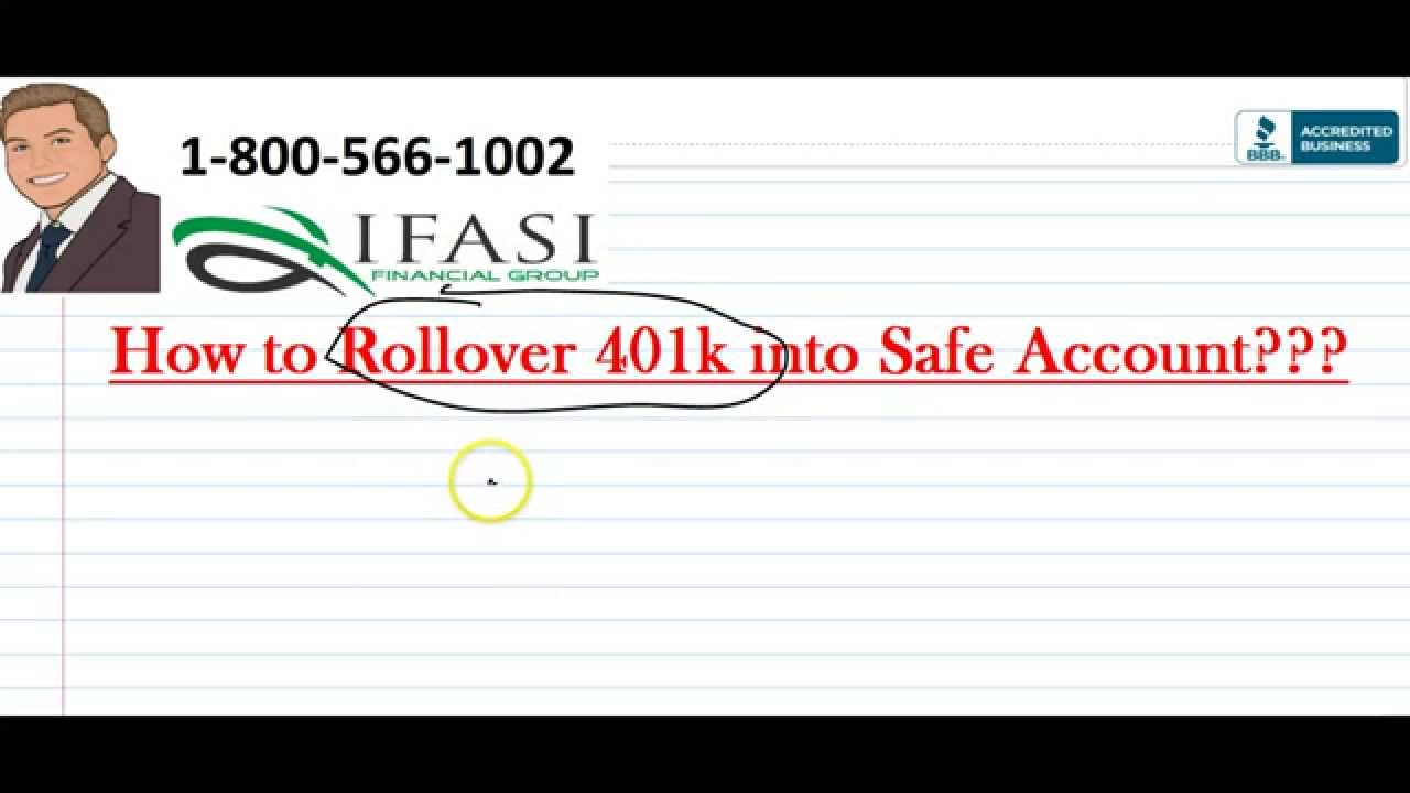Rollover 401k 401k rollover to ira youtube