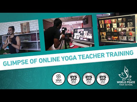 Online Yoga Teacher Training Course By World Peace Yoga School Youtube