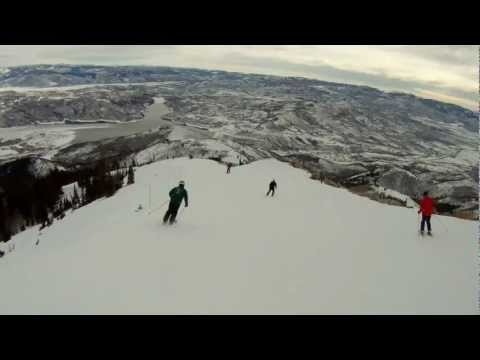 Deer Valley Resort- Stein's Way Ski Run