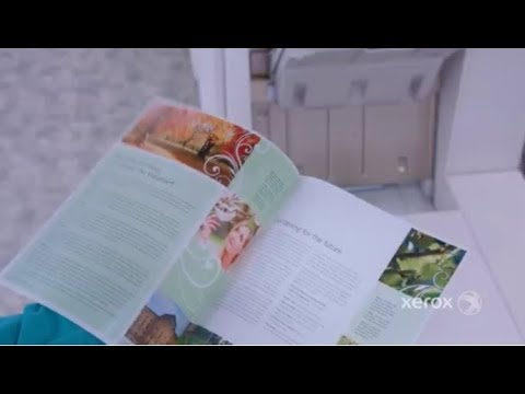 Xerox Color C60/C70 Printer: Creating booklets with the Xerox Integrated  Color Server