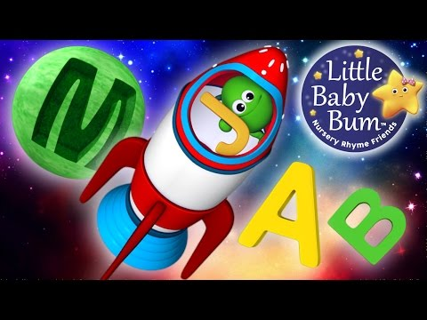 ABC Song  In Outer Space  Nursery Rhymes  Original Song  LittleBaBum!