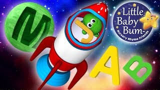 ABC Song | In Outer Space | Nursery Rhymes | Original Song By LittleBabyBum