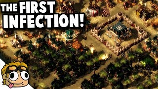 THE START of the ZOMBIE APOCALYPSE?!   They Are Billions Custom Map Gameplay