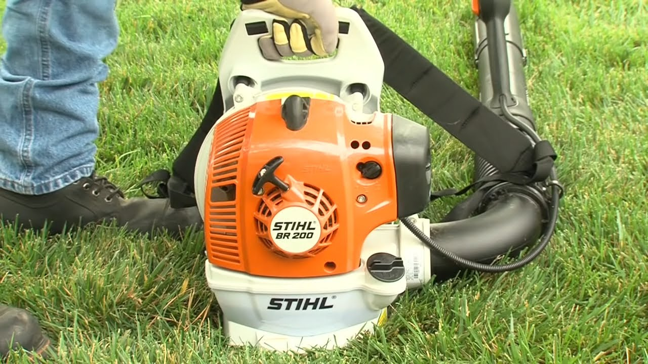 How To Start Your Stihl Er