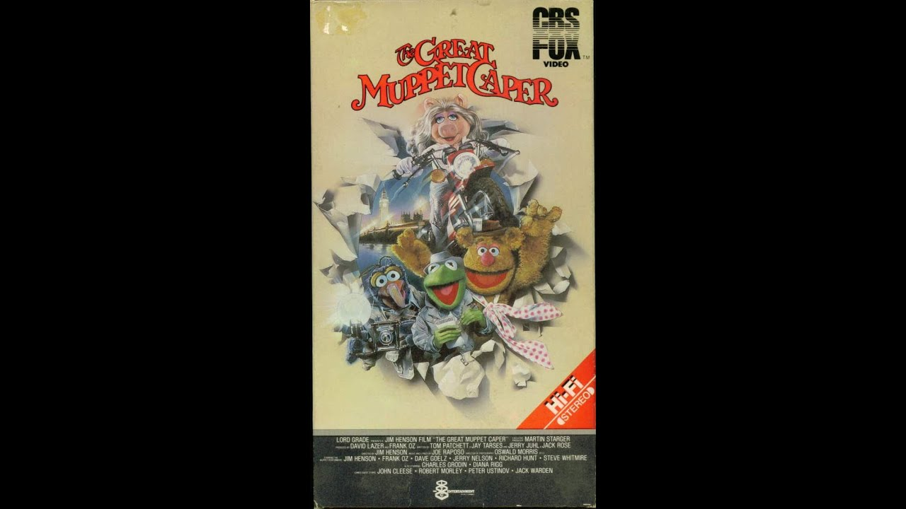 Opening To The Great Muppet Caper 1984 Vhs Youtube
