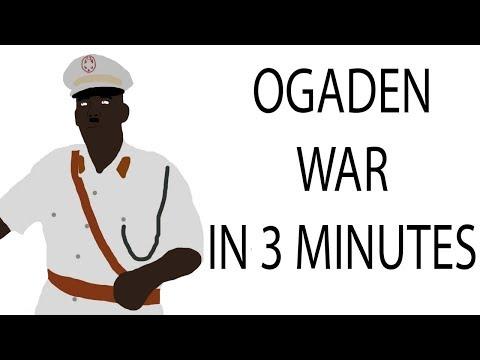 Ogaden War | 3 Minute History