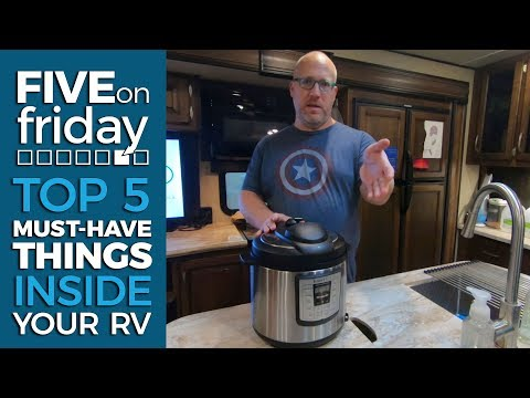 RV How To - Top 5 Must Have Accessories INSIDE Your RV