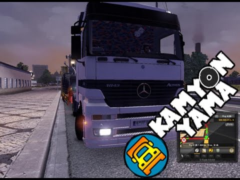 ets 2 mercedes-benz actros 1843 yaması İndir - youtube