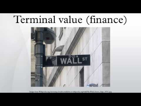 terminal value finance