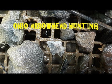 Ohio Treasure Hunting Ancient American Indian Arrowheads Archaeology History Channel