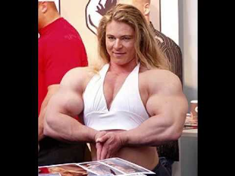 bodybuilder huge female Tall and