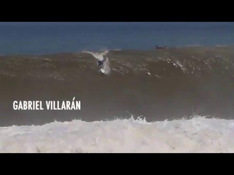 Surfing massive waves in Puerto Escondido