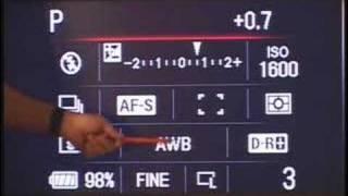 Соні А200 А300 А350 екран ярлики