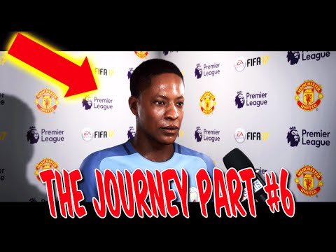 FIFA 17 THE JOURNEY GAMEPLAY #6 - HUNTER in CHAMPIONS LEAGUE? - STORY MODUS KARRIEREMODUS (DEUTSCH)