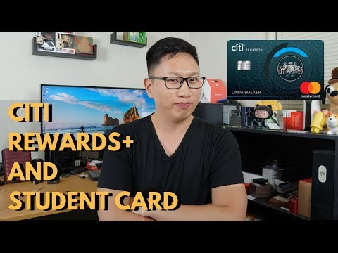 NEW Citi Rewards+ & Student Card: Round Up Points