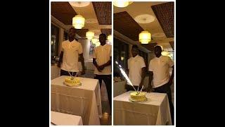 (Full Video) Nigerian Players Celebrating Kelechi Iheanacho 21 Birthday Singing Tekno Song