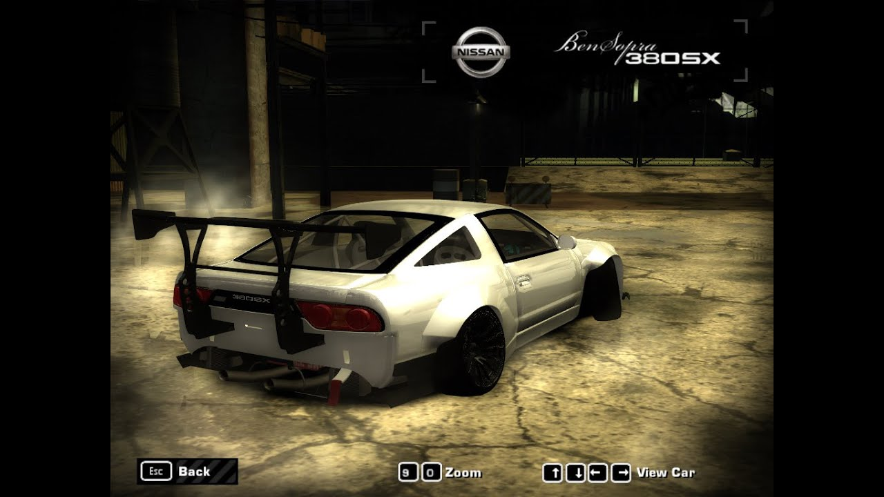 nissan 240SX ( 380SX ) Rocket Bunny Body Kit-Need For Speed Most Wanted  2005 mod
