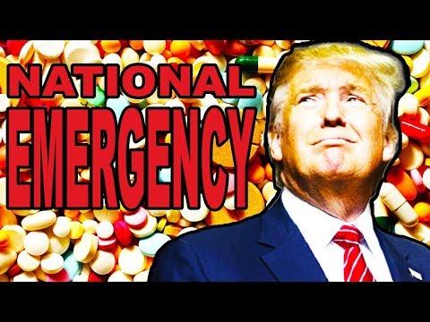 Trump Declares Opioid National State Of Emergency