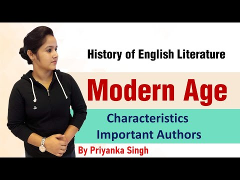 Modern Age | Modern Age in English Literature | Characteristics | Important Writers of Modern Age✍