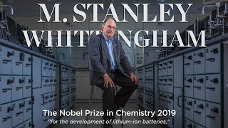 2019 Nobel Prize in Chemistry Laureate M. Stanley Whittingham
