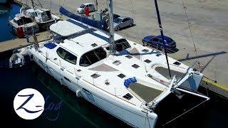 CATAMARAN TOUR - A Walk-through of our Privilege 585 (Sailing Zatara Z-Log)
