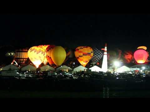 2017 Albuquerque International  Balloon Fiesta Time-Lapse