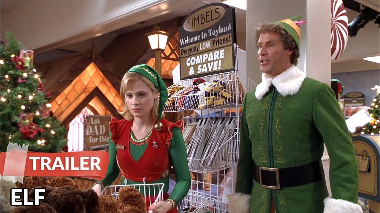 Elf 2003 Trailer Hd Will Ferrell James Caan Bob Newhart Youtube