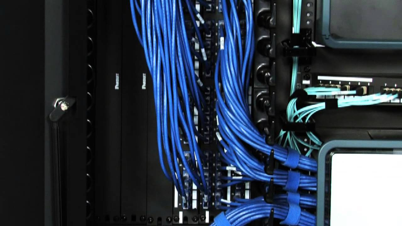 Panduit Vertical Cable Managers Youtube