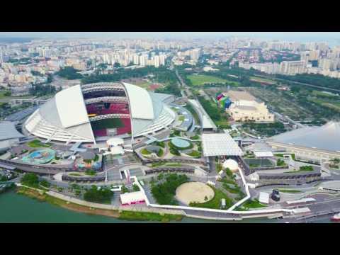 DJI Mavic Pro Footage - Singapore Sport Hub