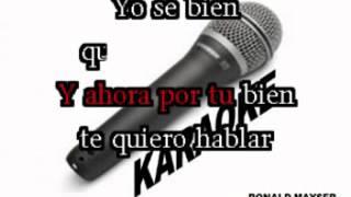 CONSEJO DE PADRE ANTHONY SANTOS demo karaoke WMV V9