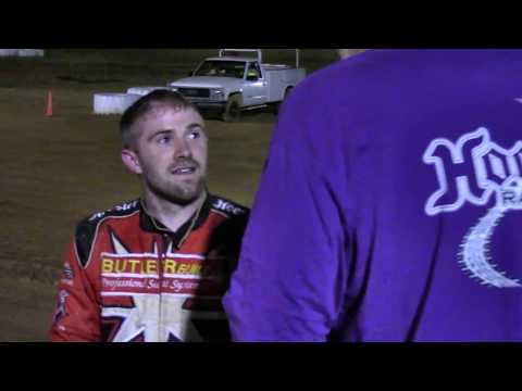 Trail-Way Speedway 358 Sprint Car Victory Lane 5-26-17
