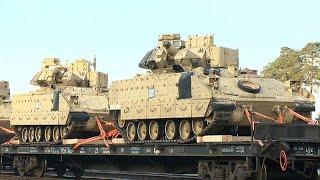 Ukraine-Krise: USA entsenden Truppen nach Litauen