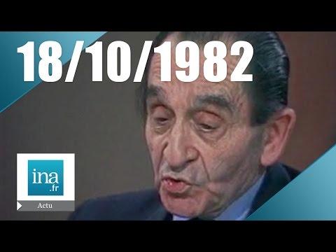 20h Antenne 2 du 18 octobre 1982 - Pierre Mendès France est mort   Archive INA