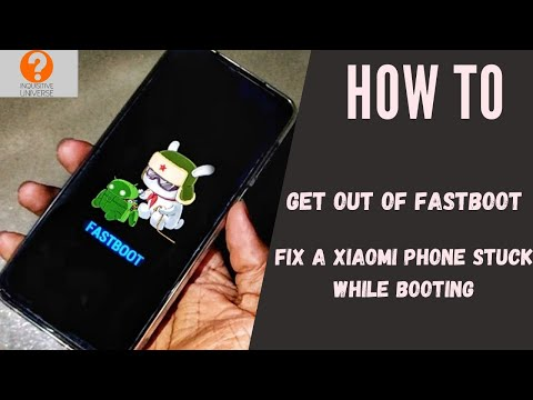 How to fix a phone that is stuck while booting up