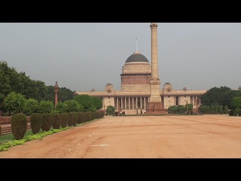 Inside India's presidential palace