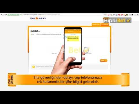 Hiperbet İNG Cepbank ile Para Yatırımı