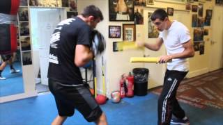 TALENTED JAKE BALL WORKS ON HIS ENDURANCE & TIMING WITH JIMMY McDONNELL JR