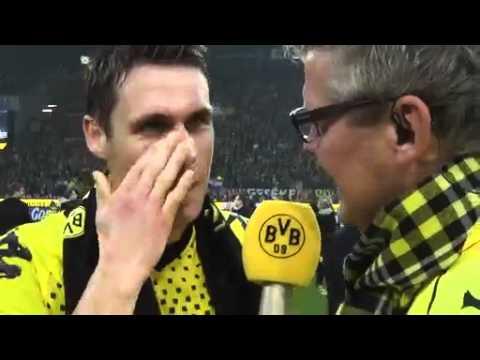 BVB - BMG: BVB total! Nachspielzeit u.a. mit Nobbys Bierdusche und der Kabinenparty