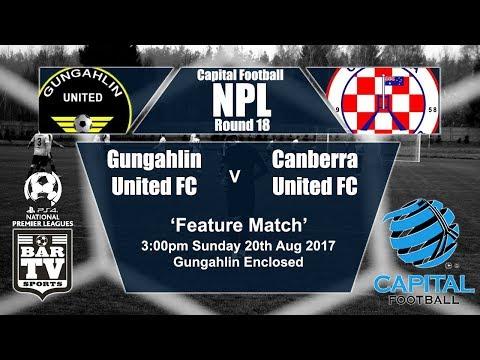 2017 Capital Football - Round 18 - Gungahlin United FC v Canberra United FC