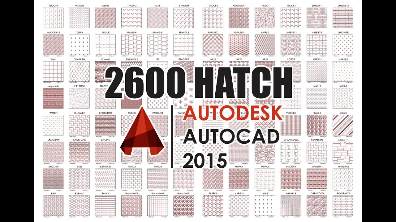 AutoCAD Hatch - Download and Install - Instalacion
