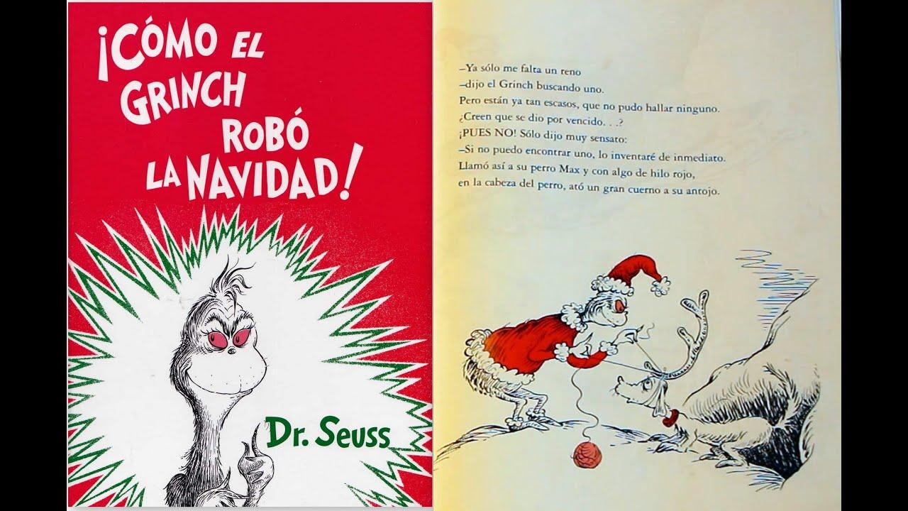 Contemporáneo Grinch Robó Navidad Para Colorear Elaboración ...