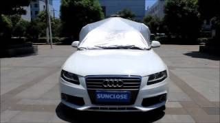 SUNCLOSE easy operation anti-hail car cover car shelter tent